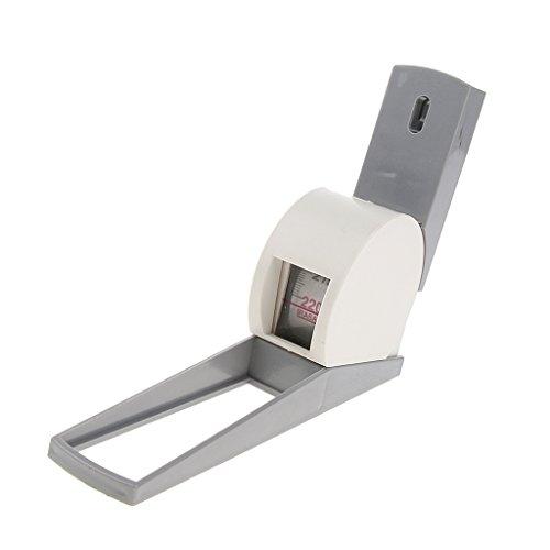 Sharplace Medidor de Altura Estatura Medida Tallimetro Cinta Metrica Retractil Altura de Estatura 200cm/2M