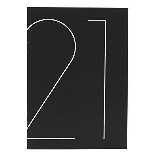エトランジェ ディ コスタリカ TYPO マンスダイアリー ノート 2021年 B6 ブラック 2021年 3月始まり 0103-DME43-T1-02