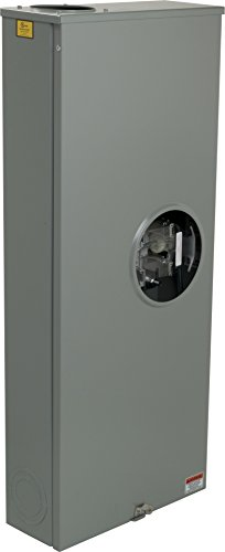 Square D by Schneider Electric UTH4330T 320A Ringless Meter Socket With Lever Bypass