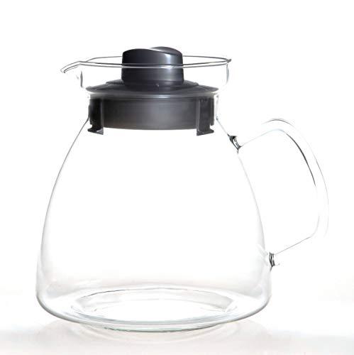 Mikrowellen Teekanne 2,1L mit Glasgriff