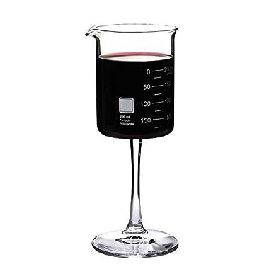 Periodic Tableware Laboratory Beaker Wine Glass