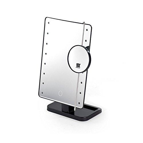 PRODMAISON 'Specchio LED Touch 2in 1con lente d' ingrandimento integrata