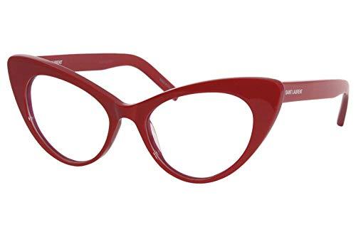 Saint Laurent Gafas de sol para mujer 53 mm rojo