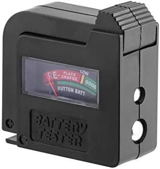 Rodalind-US Upgraded BT860 Battery Tester Universal Battery Volt Tester AA AAA CD 9V Button Cell Instrumentation Power Battery Tester