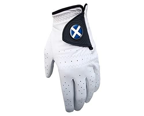 Sherpashaw Cabretta-Leder Herren Golf Handschuh mit Schottland Ballmarker und freie Ballmarker