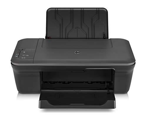 HP Deskjet 1055 J410E Inkjet Multifunction Printer - Color - Photo Print - Desktop - Printer, Copier, Scanner - 16 ppm Mono/12 ppm Color Print - 5.5 ppm Mono/4 ppm Color Print (ISO) - 61 Second Photo - 4800 x 1200 dpi Print - 4.5 cpm Mono/2.5 cpm Color Copy - 1200 dpi Optical Scan - 60 sheets Input - USB