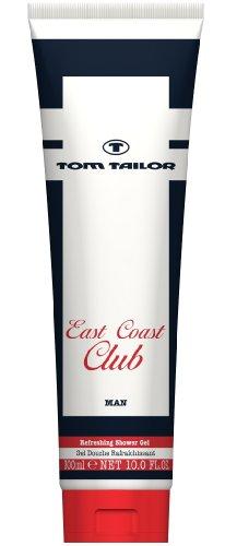 Tom Tailor Herrendüfte East Coast Club Men Shower Gel 300 ml, 1er Pack (1 x 300 ml)