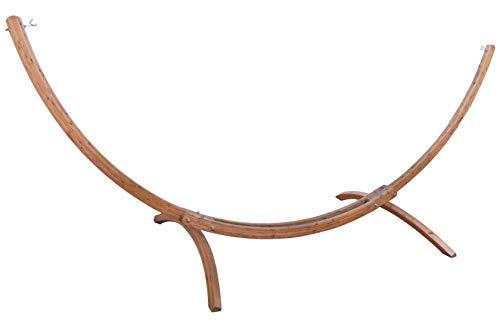Outfitters XXL Hängemattengestell (FSC© 100%) wetterfestes Holz Fichte verzinkter Beschlag für Kingsize Hängematten 420 x 167 x 160