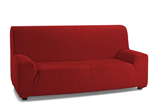 Martina Home Emilia Funda DE Sofa Elastica, Rojo, 2 Plazas