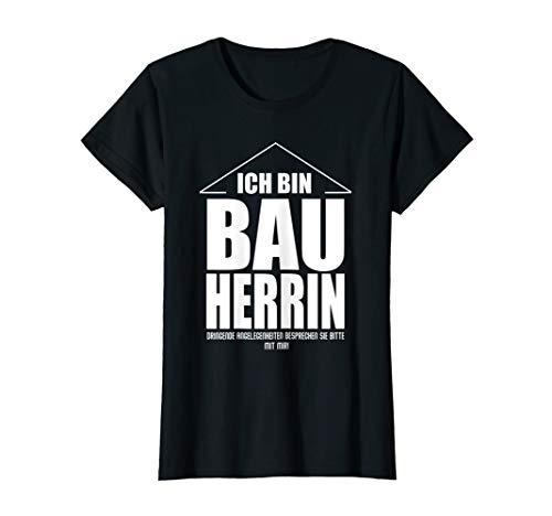 Damen Bauherrin shirt - Bauherr T Shirt T-Shirt