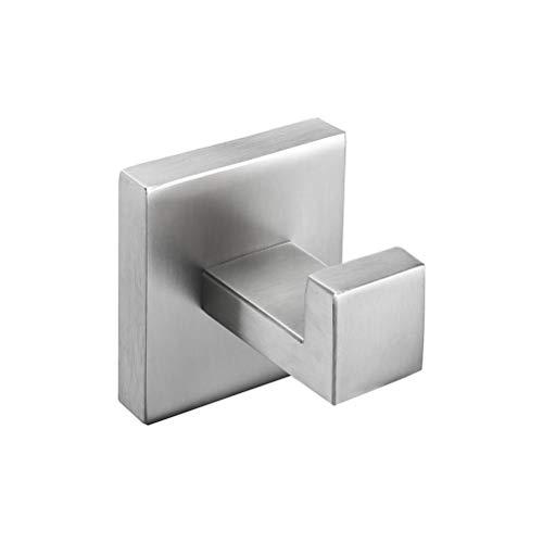 OYHN Juego de accesorios de baño Acero inoxidable cepillado Bata de gancho Toalla Barra Barra Estante Portapapel de papel Titular de cepillo de dientes Accesorios de baño, D
