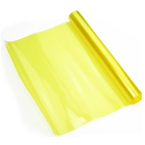 Scheinwerfer Folie Nebelscheinwerfer Gelb 120 x 30 cm