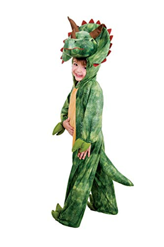 Costume carnaval - Déguisement DINOSAURE TRICERATOPS TAILLE 6 ANS