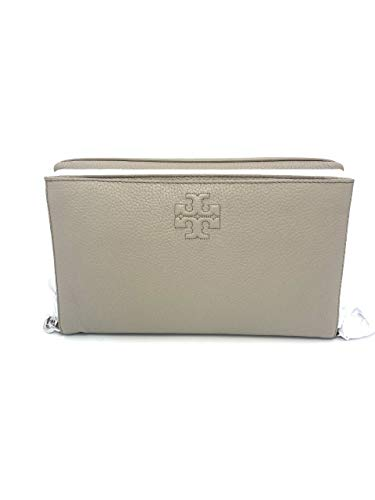 Tory Burch Damen Umhängetasche French Gray Thea Foldover, 64215-036