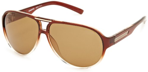 Sunoptic - Occhiali da Sole, uomo, Marrone (Brown/Clear Brown), Taglia unica