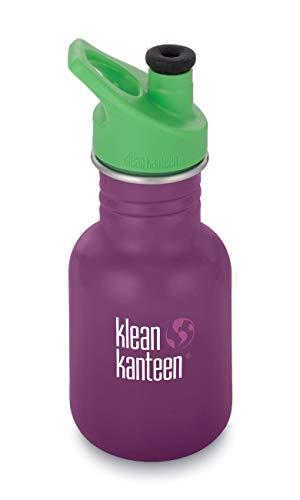 Klean Kanteen Erwachsene Classic mit Sport Cap 3.0 Trinkflasche, Winter Plum, S