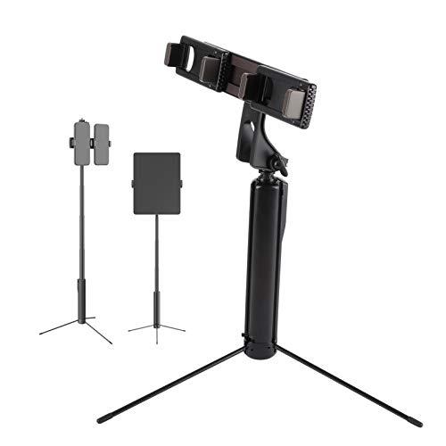 Selfie Stick para Teléfono Móvil, Trípode Retráctil para Teléfono Inteligente, Control Remoto Inalámbrico Bluetooth de 32.8 Pies, para Tomar Fotos o Transmitir en Vivo
