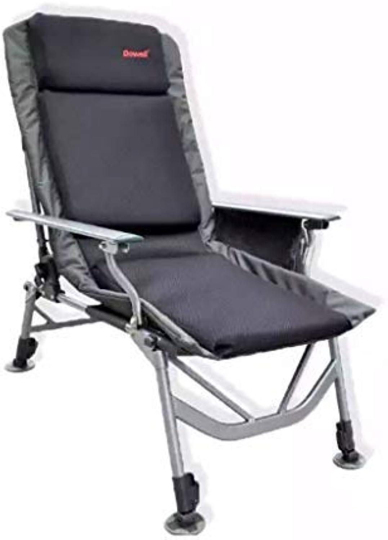 BAIF Folding Fishing Chairs, Outdoor Armchair Aluminum Alloy Lounge Chair Fishing Camping Garden Leisure Picnic Hunting Trips