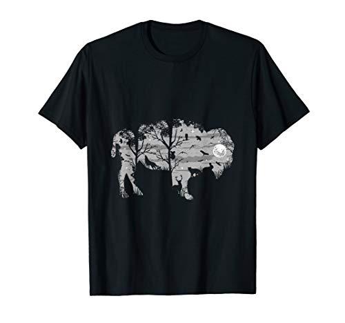 Wild Bison American Buffalo