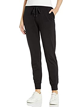 Amazon Essentials Women s Studio Terry Relaxed-Fit Jogger Pant Black S