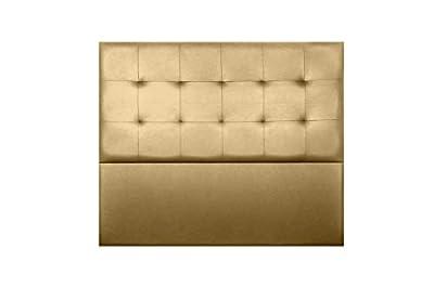 Cabecero de cama modelo NAIROBI, tapizado en polipiel Azahar de alta calidad. Es un modelo elegante y moderno. Nuestra tela polipiel Azahar es resistente a la abrasión, solidez al frotamiento y a la luz. Si desea tapizar sillas, sofás, cojines u otro...