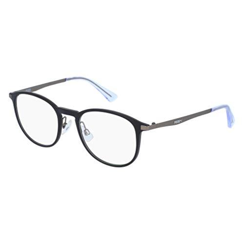 PUMA Brillen Gafas de Vista PU0078O BLACK 49/0/0 Unisex Brillen für Erwachsene