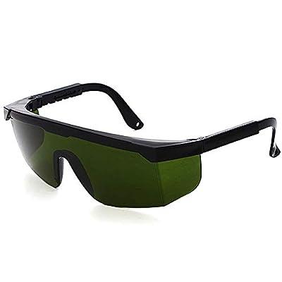 Premium UV Protective Glasses, Laser Vision Glasses for Light Protection Glasses for HPL/IPL Hair Removal, Adjustable IPL Hair Removal Device, Glasses Covered.