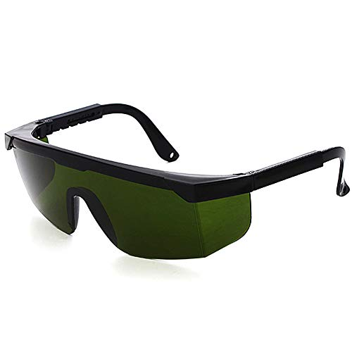 Premium-UV-Schutzbrille Laser-Vision-Brille für Lichtschutzbrille Zur HPL/IPL-Haarentfernung Verstellbares IPL-Haarentfernungsgerät Brille Abgedeckt.
