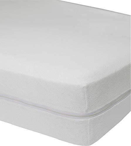 Primera Matratzenvollschutz Frottee weiß Größe 140x200 cm