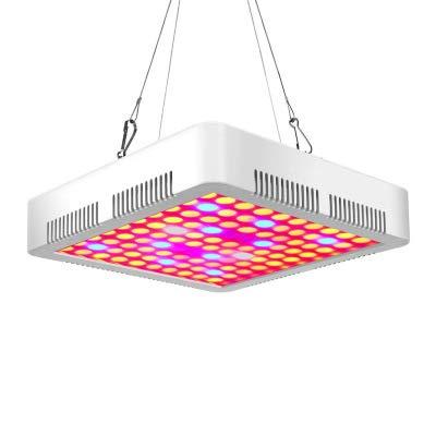 WUIO Luz De Crecimiento LED, 300 W De Espectro Completo Rojo/Azul/UV/IR/Blanco para Plantas De Cultivo De Interior E Invernadero, Lámpara De Crecimiento De Chips Dobles