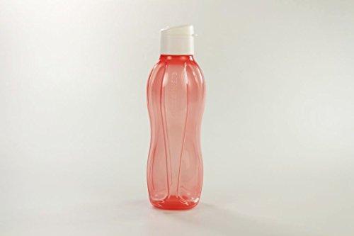 Tupperware To Go Eco P 26994 - Borraccia Ecologica con Coperchio Bianco, 750 ml, Colore: Rosso