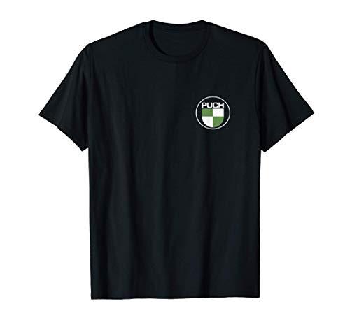 Puch Maxi S Oldtimer Fans Mofaroller Mofafahrer Mokick T-Shirt
