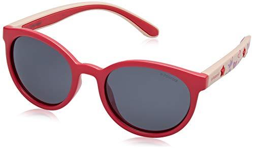 Polaroid PLD 8014/S AI MBT Gafas de sol, Rosa (Fuchsia Pink/Grey Pink Grey Speckled Pz), 46 Unisex Niños