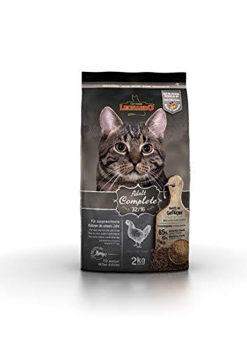Leonardo Adult Complete 32/16 [2kg] Katzenfutter | Trockenfutter für Katzen | Alleinfuttermittel für ausgewachsene Katzen Aller Rassen ab 1 Jahr