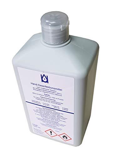 IMC Desinfektionsmittel 1000ml Hände/Hand nach WHO 96% Alkohol Hygiene Händedesinfektion Begrenzt Viruzid Bakterizid 1L Flasche