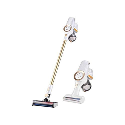 NLRHH Limpiador de vacío sin Cable 9000PA STRIENTE Suction 2 EN 1 Vacío de Palos Vacío de Mano Ultra Tranquilo con Motor sin escobillas Multi-Adjuntos Peng