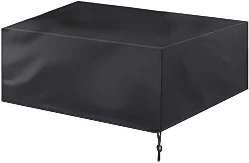 Fundas de muebles para exteriores rectangulares 210D 308 x 138 x 98 cm Cubiertas de mesa de jardín impermeable para muebles de patio cubierta de muebles anti-UV a prueba de viento para el juego