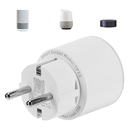 Enchufe WiFi, enchufe remoto con control de voz resistente a altas temperaturas para sus electrodomésticos