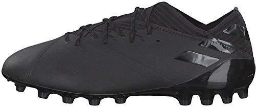 adidas Nemeziz 19.1 AG, Bota de fútbol, Core Black-Utility Black, Talla 10 UK (44 2/3 EU)