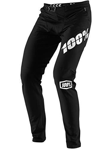 100% Percent Men's R-Core-X DH Mountain Bike Pants - 43002 (Black - 28)