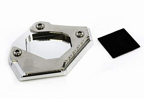 Cuscino ingrandimento Frecce Cavalletto laterale Cavalletto laterale verbreiterung supporto prolunga per B-MW F700GS 2013 – 2017