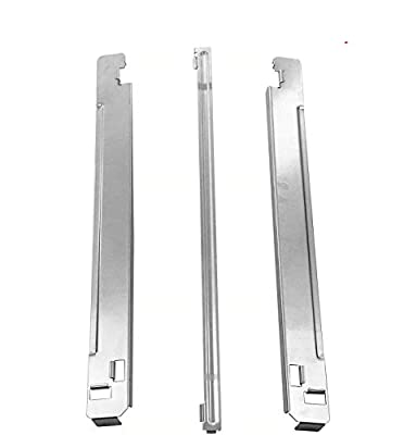 3-Piece 29-Inch Laundry Stacking Kit Chrome Steel Fit for LG 29-in washers and dryers LG KSTK2 and Kenmore Replacement Parts Chrome Steel Stainless (29 Inch)