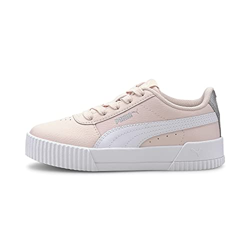 PUMA Mädchen Carina L PS Sneaker, Pink (Rosewater White), 34 EU