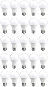 25-Pack AmazonCommercial 40 Watt LED Light Bulb
