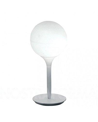 Artemide Castore G9weiß Tischleuchte Tisch-Lampen (weiß, Glas, Thermoplast, IP20, G9, 1bulb (S), Halogen, LED)