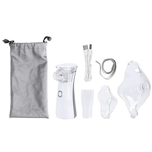 Ultrasone vernevelaar Persoonlijke stoominhalator, Haofy draagbare handheld-verdamper Draadloze oplaadbare warme en koele miststoominhalator, Gezondheid Zorg voor volwassen kinderen Home Travel
