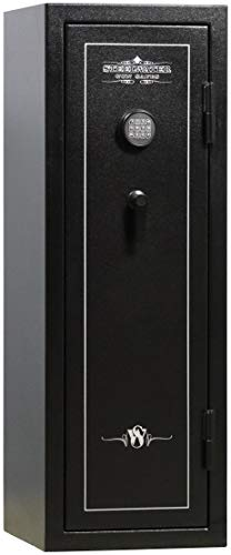 Steelwater Gun Safes - Basic Series 18 Long Rifle Max Capacity - AMBCD551920