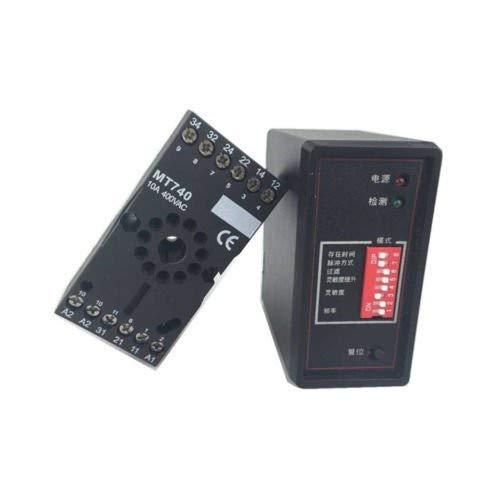 DC12/24V AC110/220V PD132 Sensor de Tierra de tráfico inductivo Loop Detector de señal de vehículo