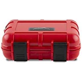 Stash Box Boulder Case Co J1500 Waterproof Case Red