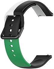 hgni Sport horlogeband polsband waterdichte vervanging polsbandje riem verstelbare horlogeband compatibel voor Samsung, Huawei, Amazfit, Xiaomi, Jiaming, Fossil, Ticwatch